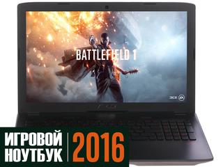 "15.6"" Ноутбук ASUS ROG GL552VW-CN875T серый + игра Battlefield 1"