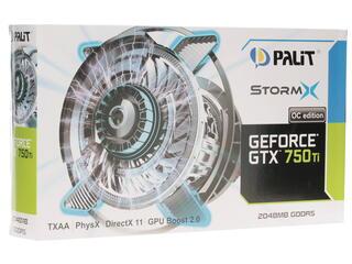 Видеокарта Palit GeForce GTX 750 Ti StormX OC 2048MB 128bit DDR5 [NE5X75TSHD41-XXXXF]