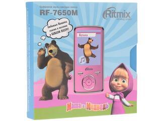 Мультимедиа плеер RITMIX RF-7650M розовый