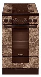Электрическая плита GEFEST 5560-01 0001 коричневый, бежевый