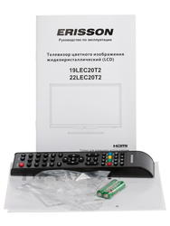 """21.5"""" (54 см)  LED-телевизор Erisson 22LEC20Т2 черный"""