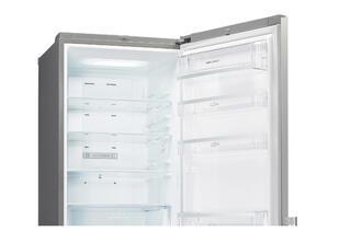 Холодильник с морозильником LG GA-B489YMDZ серебристый