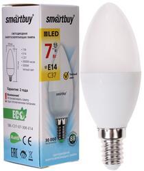 Лампа светодиодная Smartbuy C37 SBL-C37-07-30K-E14