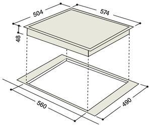 Электрическая варочная поверхность Hotpoint-Ariston KRO 642 TO Z