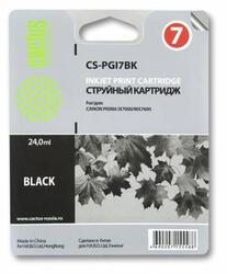 Картридж струйный Cactus CS-PGI7BK