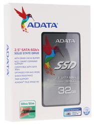 32 ГБ SSD-накопитель AData SP600 [ASP600S3-32GM-C]