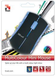 Мышь проводная Trust MultiColour Mini
