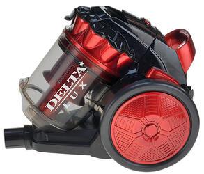 Пылесос DELTA LUX DL-0830 красный