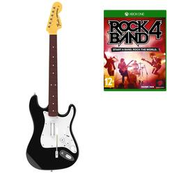 "Игровой комплект Mad Catz Fender™ Stratocaster™ + Игра для XboxOne ""Rock Band 4"""