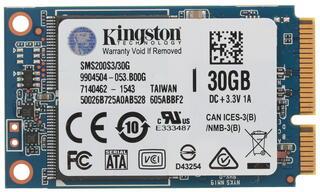 30 ГБ SSD-накопитель Kingston SSDNow mS200 [SMS200S3/30G]