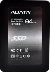 64 Гб SSD-накопитель A-Data SP600 [ASP600S3-64GM-C]