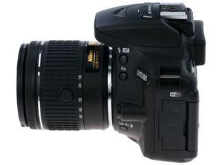 Зеркальная камера Nikon D5500 Kit 18-55mm VR AF-P черный