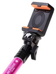 Монопод для селфи Aceline ZA-828LP розовый