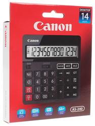 Калькулятор бухгалтерский CANON AS-240