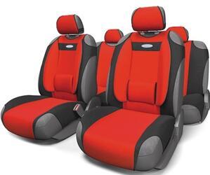 Чехлы на сиденье AUTOPROFI COMFORT COM-905T красный