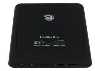 6'' Электронная книга Nautilus One черный + чехол