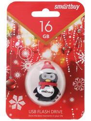 """Память USB Flash Smartbuy X'mas series """"Penguin"""" 16 Гб"""