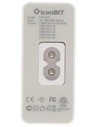 Сетевое зарядное устройство IconBIT FTB FIVE