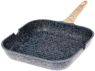 Сковорода-гриль Nadoba 728420 Mineralica серый