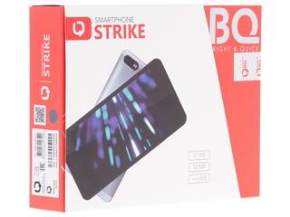 """5"""" Смартфон BQ Strike 8 ГБ серый"""