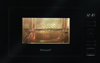Встраиваемая микроволновая печь Weissgauff HMT-556 черный