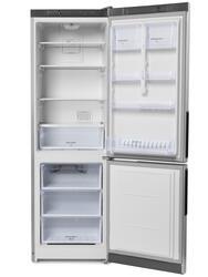 Холодильник с морозильником Hotpoint-ARISTON HF 4180 S серебристый