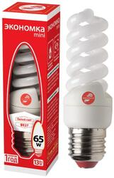 Лампа люминесцентная Экономка T2 SPC 13W E2742