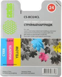 Картридж струйный Cactus CS-BCI24CL