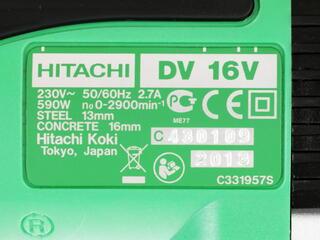 Дрель Hitachi DV16V