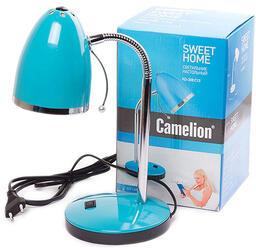 Настольный светильник Camelion KD-308 C13 голубой