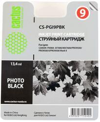 Картридж струйный Cactus CS-PGI9PBK