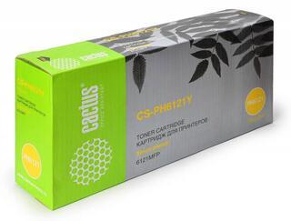 Картридж лазерный Cactus CCS-PH6121Y