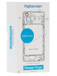 "5"" Смартфон Highscreen Power Rage 16 ГБ золотистый"