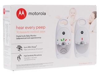 Радионяня Motorola MBP10S белый