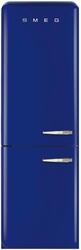 Холодильник с морозильником Smeg FAB32LBLN1 синий