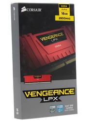 Оперативная память Corsair Vengeance LPX [CMK16GX4M4A2800C16R] 16 ГБ
