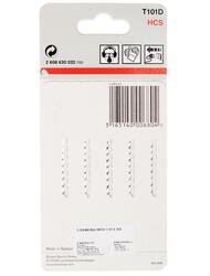 Пилки для лобзика Bosch T101D HCS