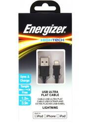Кабель Energizer Hightech USB - Apple 8-pin черный