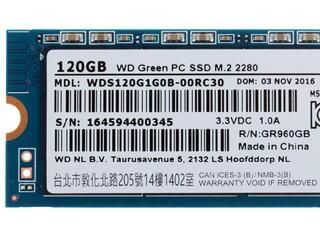 120 ГБ SSD M.2 накопитель WD Green [WDS120G1G0B]