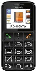 Сотовый телефон Texet TM-B112 черный