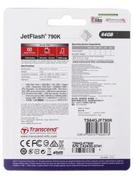 Память USB Flash Transcend JetFlash 790K 64 Гб