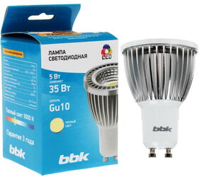 Лампа светодиодная BBK PC53C Gu10