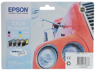 Набор картриджей Epson T0635