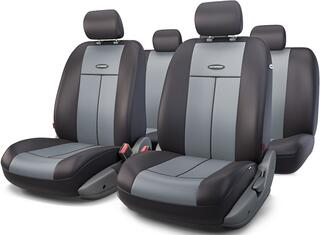 Чехлы на сиденье AUTOPROFI TT-902P серый