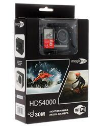 Экшн видеокамера Gmini MagicEye HDS4000 серебристый