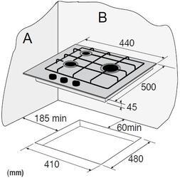 Газовая варочная поверхность Zigmund & Shtain GN 17.451 M