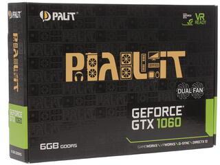 Видеокарта Palit GeForce GTX 1060 DUAL 6G [NE51060015J9-1061D]