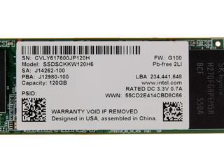 120 Гб SSD M.2 накопитель Intel 540s [SSDSCKKW120H6X1]