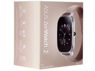Смарт-часы Asus ZenWatch 2 WI502Q серебристый