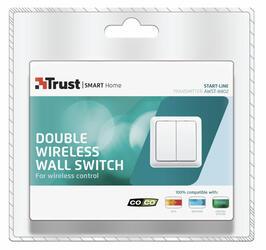 Настенный выключатель Trust AWST-8802 белый
